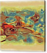 Pastel Canvas Print