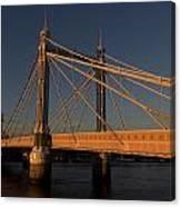 The Albert Bridge London Canvas Print