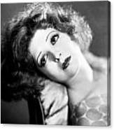 Clara Bow (1905-1965) Canvas Print