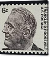 Franklin Delano Roosevelt Canvas Print
