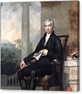 James Monroe (1758-1831) Canvas Print