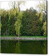 Willow Pond B And B Canvas Print