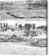 Battle Of Concord, 1775 Canvas Print