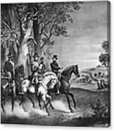 Lees Surrender, 1865 Canvas Print