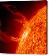 Solar Prominence Canvas Print