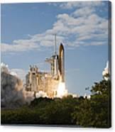 Space Shuttle Atlantis Lifts Canvas Print