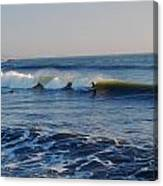 Surfers Make The Ocean Better Series Canvas Print