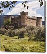 15th Century Castle Of The Duke Of Canvas Print