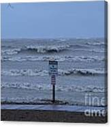 Hurricane Sandy Canvas Print