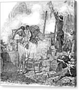 France: Revolution Of 1848 Canvas Print