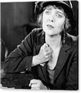 Silent Film Still: Woman Canvas Print