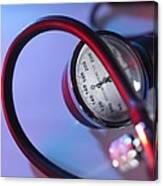 Blood Pressure Gauge Canvas Print