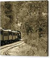 1800's Train Canvas Print