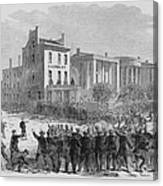 1866 Race Riot In New Orleans Was One Canvas Print