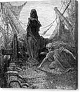 Coleridge: Ancient Mariner Canvas Print