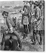 Robert E. Lee (1807-1870) Canvas Print
