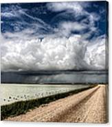 Storm Clouds Saskatchewan Canvas Print