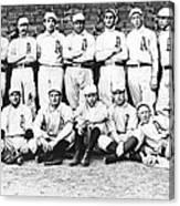 1902 Philadelphia Athletics Canvas Print