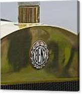 1908 Benz Grand Prix Hood Emblem Canvas Print