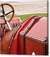 1911 Fiat S61 Steering Wheel Canvas Print