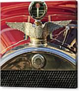 1915 Brewster-knight Model 41 Landaulet Hood Ornament 2 Canvas Print