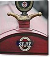 1916 Stutz Series B Bearcat Hood Ornament Canvas Print