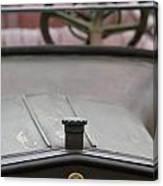 1916 Winton Model 33 Touring Hood Ornament Canvas Print