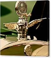 1919 Mcfarlan Type 125 Touring Motometer - Hood Ornament Canvas Print