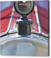 1919 Pierce-arrow Model 48 Dual Valve Roadster Hood Ornament Canvas Print