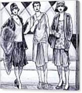 1920s Styles Canvas Print
