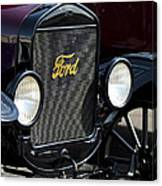 1925 Ford Model T Coupe Grille Canvas Print