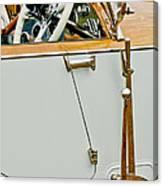 1925 Rolls-royce Phantom I Barker Sports Torpedo Tourer Steering Wheel Canvas Print