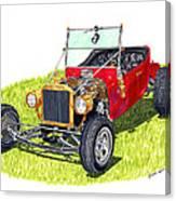 1923 T Bucket Canvas Print