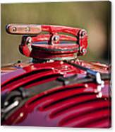 1929 Birkin Blower Bentley Hood Ornament Canvas Print