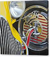 1929 Ford Model A Roadster Wheel Canvas Print
