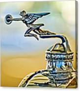 1929 Packard Hood Ornament Canvas Print