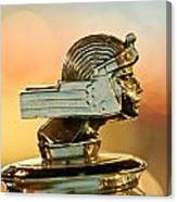 1929 Stutz Series M Four-passenger Dual-cowl Speedster Hood Ornament  Canvas Print