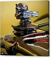 1930 Stutz 4 Door Sedan Sv 16 Canvas Print