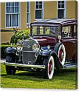 1931 Cadillac V12 Canvas Print