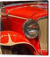 1931 Cord Automobile Canvas Print
