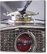 1931 Henney 2-passenger Convertible Hood Ornament Canvas Print