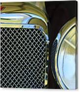 1932 Alvis-6 Speed 20 Sa Grille Emblem Canvas Print