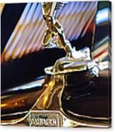 1932 Auburn V-12 Speedster Hood Ornament Canvas Print