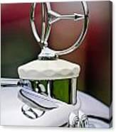 1932 Austro Daimler Hood Ornament Canvas Print