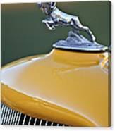 1933 Dodge Ram Hood Ornament Canvas Print