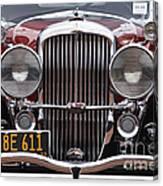 1933 Duesenberg Model J - D008167 Canvas Print