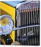 1933 Fiat Balilla Grille Canvas Print