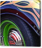 1933 Ford Wheel Canvas Print