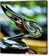 1934 Chevrolet Flying Eagle Hood Ornament - 2 Canvas Print