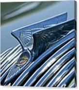 1934 Chrysler Airflow Hood Ornament 4 Canvas Print
